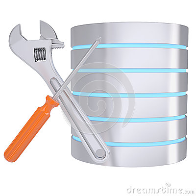 Screwdriver, wrench and database