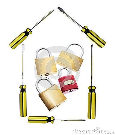 Screwdrivers and Locks