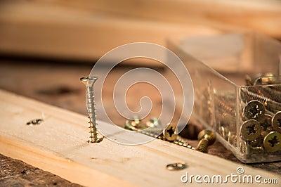 Screws in a Board