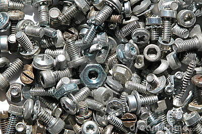 Screws and nuts 2