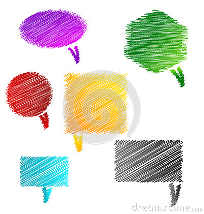 Scribble Chat bubbles