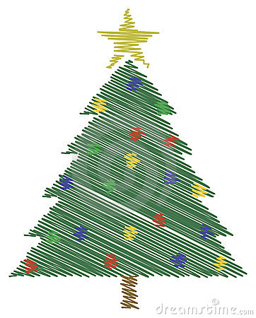 Scribble Christmas Tree