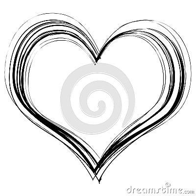 Free Scribble Heart Stock Photos - 8285503