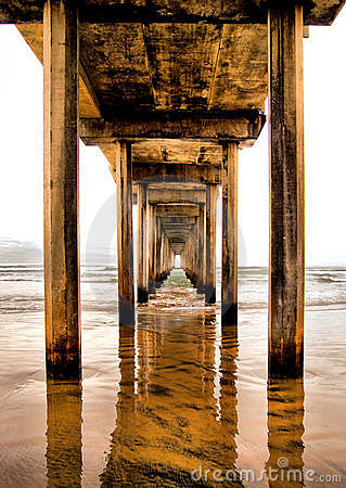 Free Scripps Pier Royalty Free Stock Photography - 7552397