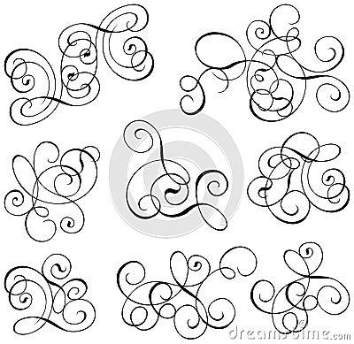 Free Scroll, Cartouche, Decor, Vector Royalty Free Stock Image - 476036