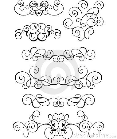 Free Scroll, Cartouche, Decor, Vector Stock Images - 503244