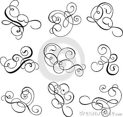Free Scroll, Cartouche, Decor, Vector Stock Image - 517421