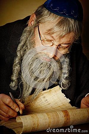 Scroll writing