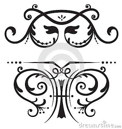 Scrolls for designs.
