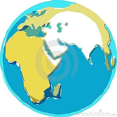 Scruffy Globe