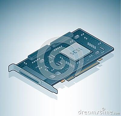 SCSI card