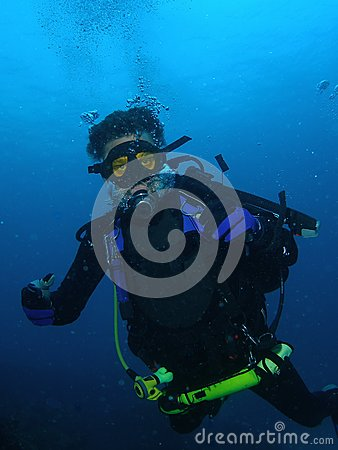 Free Scuba Diving Stock Image - 29554441