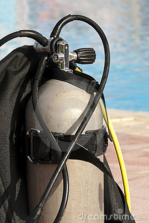 Scuba oxygen tank