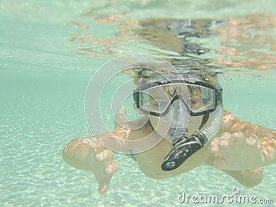 Scuba and snorkel