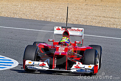Scuderia Ferrari F1, Felipe Massa, 2012 Editorial Photography