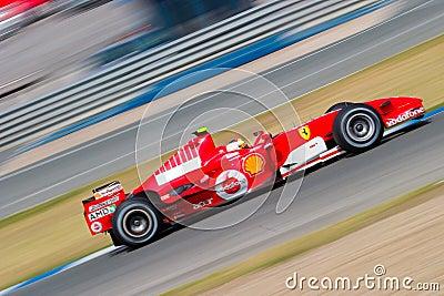 Scuderia Ferrari F1, Luca Badoer, 2006 Editorial Photography