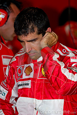 Scuderia Ferrari F1, Marc Gene, 2006 Editorial Stock Photo