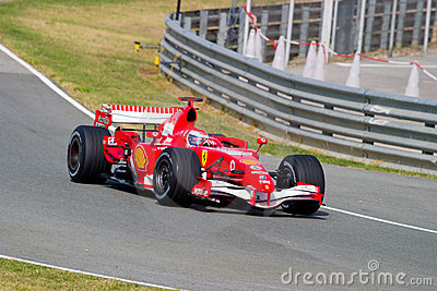 Scuderia Ferrari F1, Marc Gene, 2006 Editorial Photography