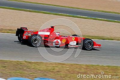 Scuderia Ferrari F1, Marc Gene, 2006 Editorial Photo