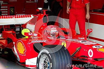 Scuderia Ferrari F1, Michael Schumacher, 2006 Editorial Photography