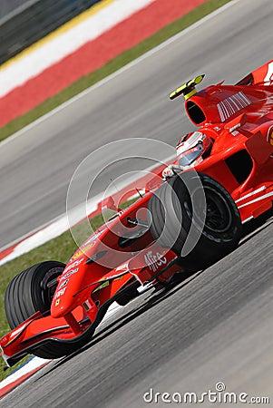 Scuderia Ferrari Marlboro F200 Editorial Stock Photo