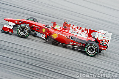 Scuderia Ferrari Marlboro Formula One Felipe Massa Editorial Photography