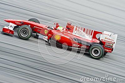 Scuderia Ferrari Marlboro Formula One Felipe Massa Editorial Photography