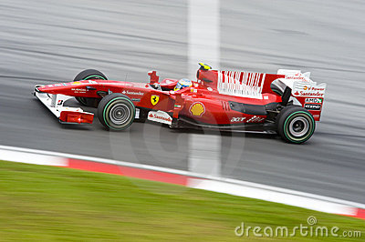 Scuderia Ferrari Marlboro Formula One Racing Team Editorial Photography