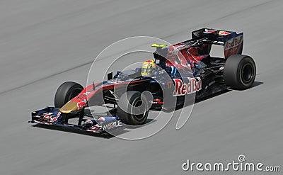 Scuderia Toro Rosso driver Jaime Alguersuari Editorial Photo