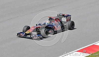 Scuderia Toro Rosso driver Sebastien Buemi Editorial Image