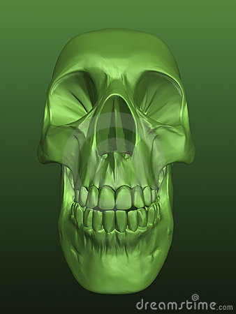 Free Scull 3d Stock Photo - 9546190