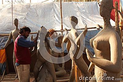 Sculptor Editorial Photo