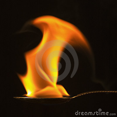 Sculptural Flame