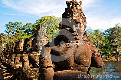 Sculpture in Angkor