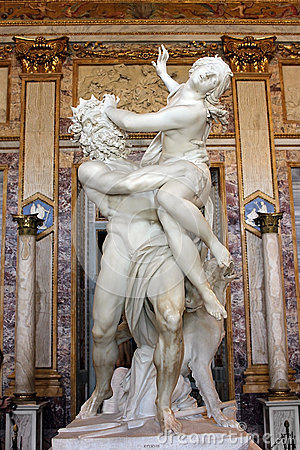 Free Sculpture By Gian Lorenzo Bernini, Of Proserpine, Galleria Borghese, Rome, Italy Royalty Free Stock Image - 44078916