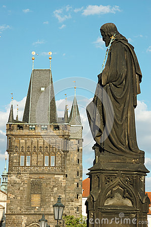 Sculpture of Charles bridge,unesco heritage,Prague