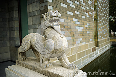 Sculpture of Chinese myth