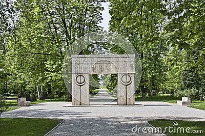 Sculpture of Constantin Brancusi Editorial Image