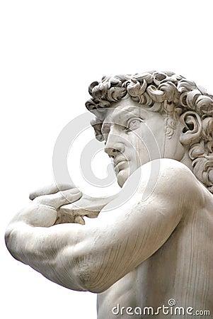 The sculpture of David