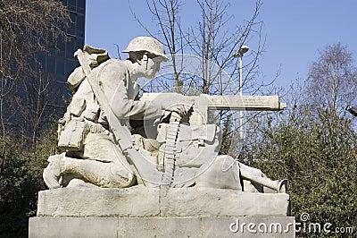 Sculpture du nord en canonnier, Portsmouth