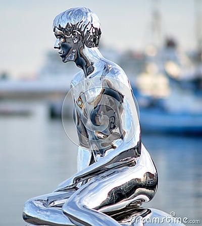 Sculpture: He, Elmgreen & Dragset 2012