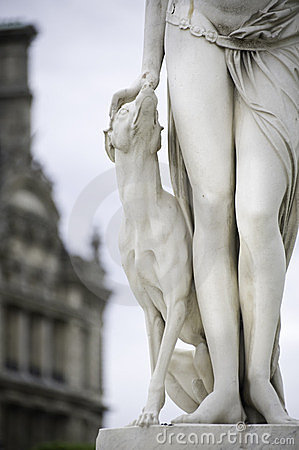 Free Sculpture From Paris Royalty Free Stock Photography - 23809677