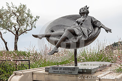 Sculpture by Giacomo Manzu Editorial Photography