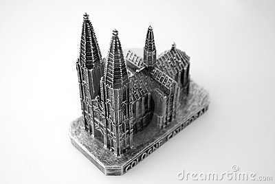Sculpture of Koln DOM