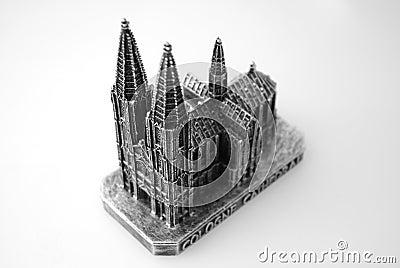 Sculpture of Koln DOM