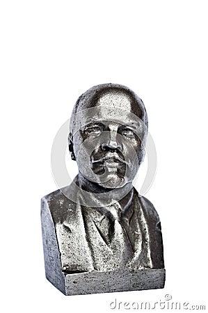 Sculpture of Lenin