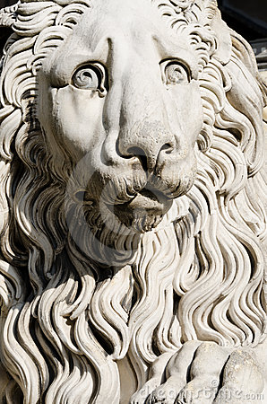 Sculpture of a lion