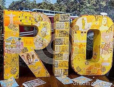 Rio de Janeiro Sculpture Editorial Photography