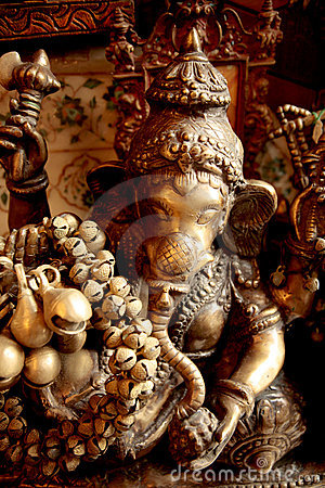 Free Sculpture Of Ganesh Stock Photos - 9501653