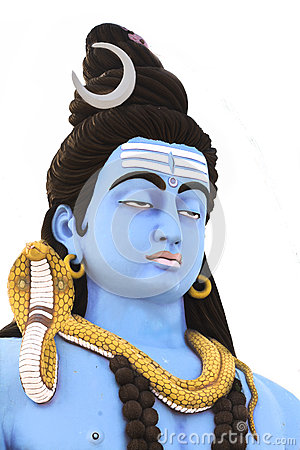 Free Sculpture Of Lord Shiva Stock Image - 49460821